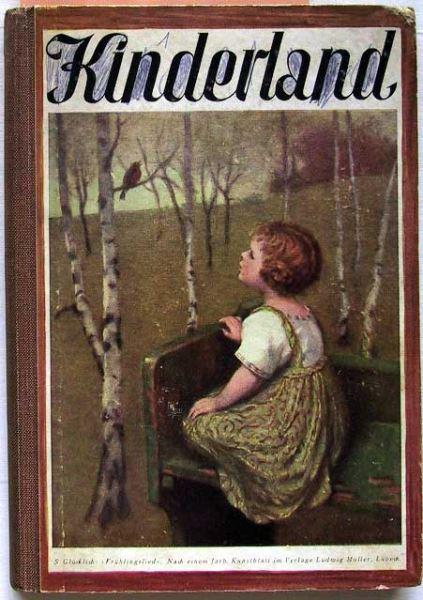 Kinderland 1927. Ein Jahrbuch für die Buben und Mädels des arbeitenden Volkes.