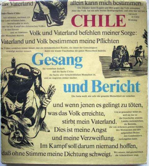 CHILE - Gesang und Bericht.