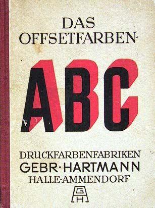 Druckfarbenfabriken Gebr. Hartmann: Das Offsetfarben-ABC.
