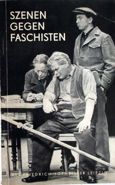 Hoffmann, Ludwig (Hrsg.): Szenen gegen Faschisten.