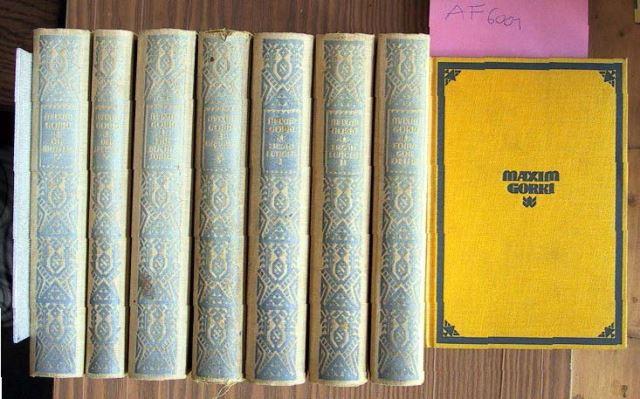 Gorki, Maxim: Gesammelte Werke. Erste Reihe in 8 Bänden.