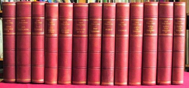 Tolstoj, Leo: [Gesamtausgabe in 14 Bänden].
