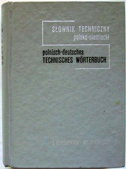 Koch, Zbigniew J.: Polnisch-Deutsches Technisches Wörterbuch.