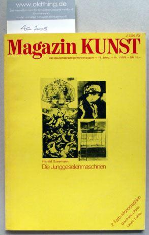 Baier, Alexander Hans (Hrsg.): Magazin KUNST. Das deutschsprachige Kunstmagazin. [Mit 18 Seiten Originalgraphik von Christian Ludwig Attersee].