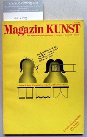Baier, Alexander Hans (Hrsg.): Magazin KUNST. Das deutschsprachige Kunstmagazin. [Mit 18 Seiten Originalgraphik von Nikolaus Jungwirth].