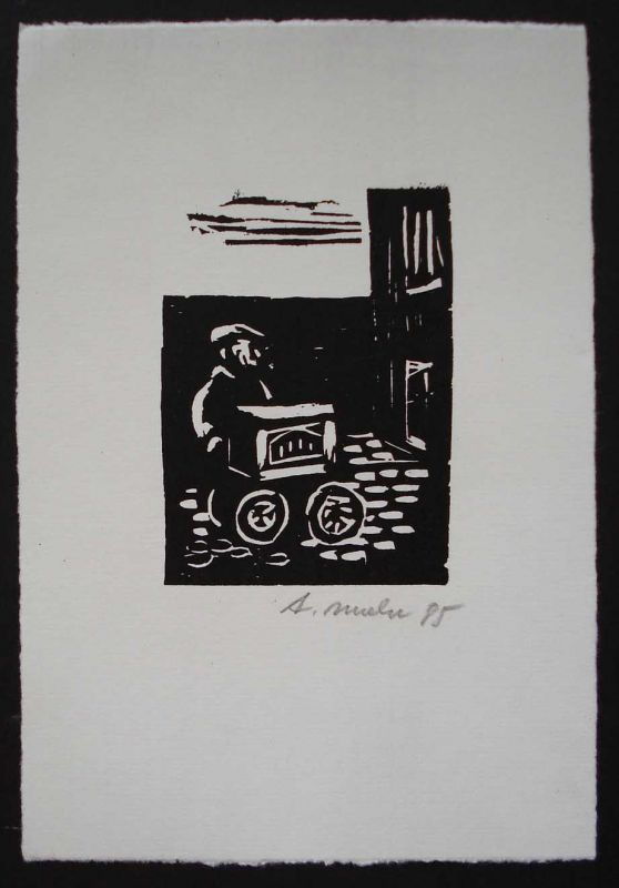 Arno Mohr: O.Holzschnitt