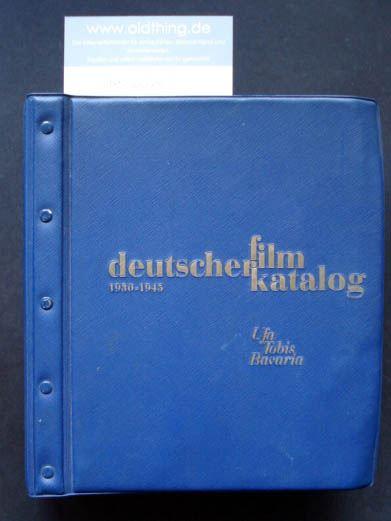Kraatz, Karl L. (Hrsg.): deutscher filmkatalog 1930-1945. Ufa Tobis Bavaria. Alphabetisches Verzeichnis.
