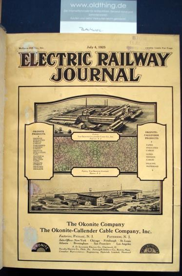 Electric Railway Journal. (1925).