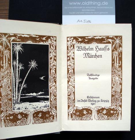 Wilhelm Hauff's Märchen. Vollständige Ausgabe.