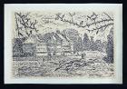 W. Rudolph – Original Holzschnitt