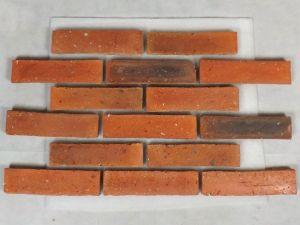 Boden Fliesen Fliesen Küchenarbeitsplatte Bordüre Scheuerleiste Backsteine Ziegel Landhaus Fischgrät