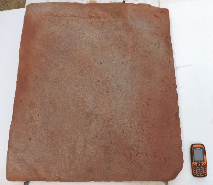 rustikale antike Sandsteinplatten Podest Dielenplatte Eingansplatte Terrasse Gehweg Naturstein