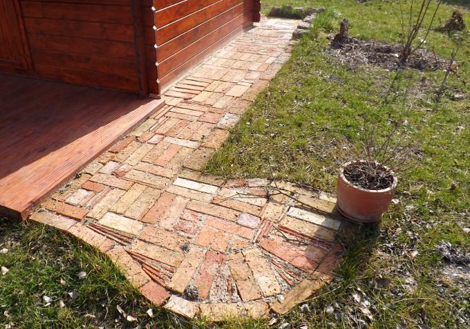 bodenziegel mediterrano ziegeln backstein pflastersteine rustikal, Gartenarbeit ideen