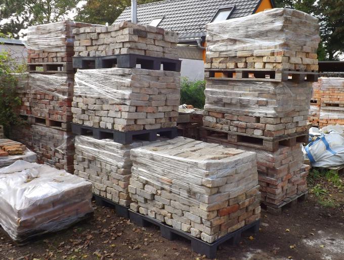 antike rustikale ziegel backstein ruinenmauer used look sommerk c. Black Bedroom Furniture Sets. Home Design Ideas