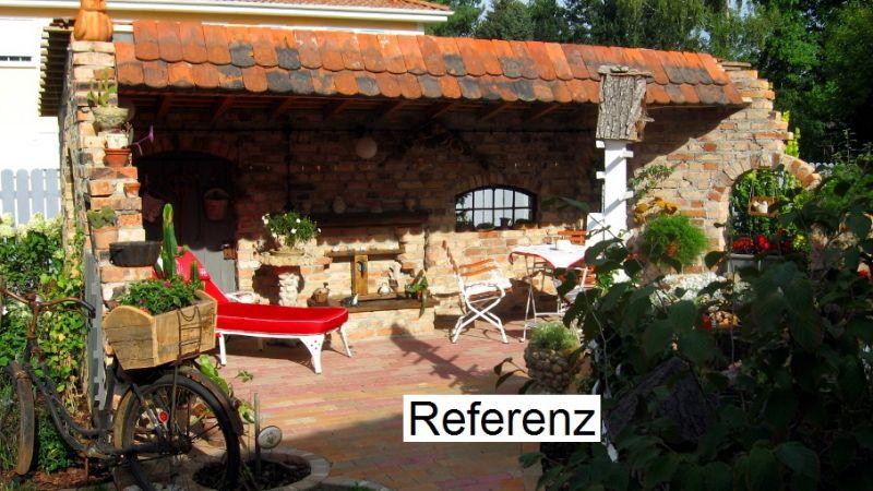 Historische backsteine verblender verblendziegel for Gartengestaltung rustikal