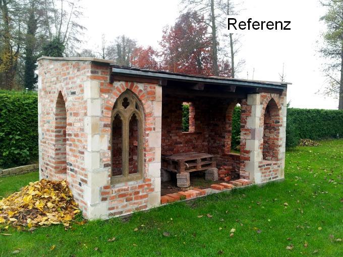 Gebrauchte alte mauersteine historische klinker gerumpelte for Gartengestaltung rustikal