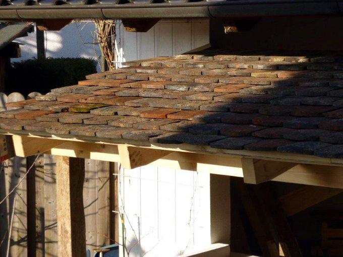 historische handstrich biberschwanz dachziegel dachsteine tonziegel deko mauerwerksabdeckung. Black Bedroom Furniture Sets. Home Design Ideas