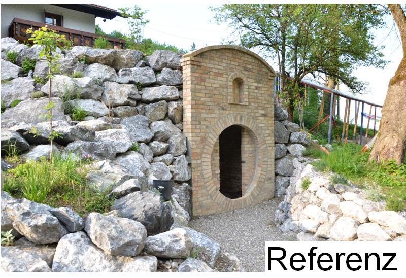 Historische Ziegel Antik Klinker Backsteine Ruinenmauer