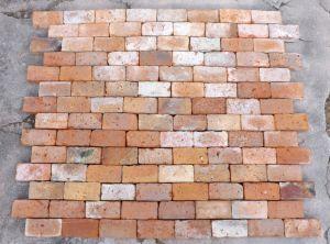 Pflastersteine Ziegelpflaster antik Backsteine Klinker Mauersteine Bodenziegel Terrasse Landhaus
