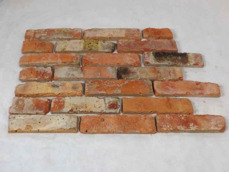 Ziegelriemchen mauerziegel antik retro riemchen verblender for Boden ziegelsteine