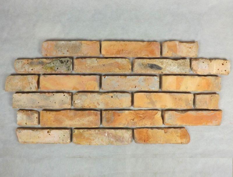 Antikriemchen Ziegelriemchen Mauerziegel antik retro Riemchen Verblender alter Kamin Klinker Ziegel Backstein Fliese Fabrik