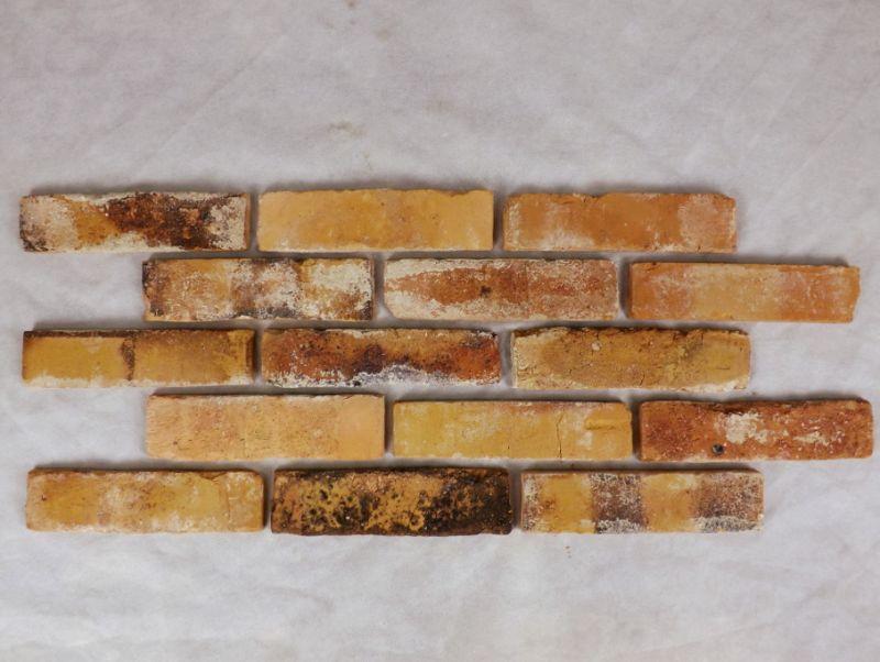 Antikriemchen Klinkerriemchen Verblender Fassade Flachverblender original historisch Mauerstein