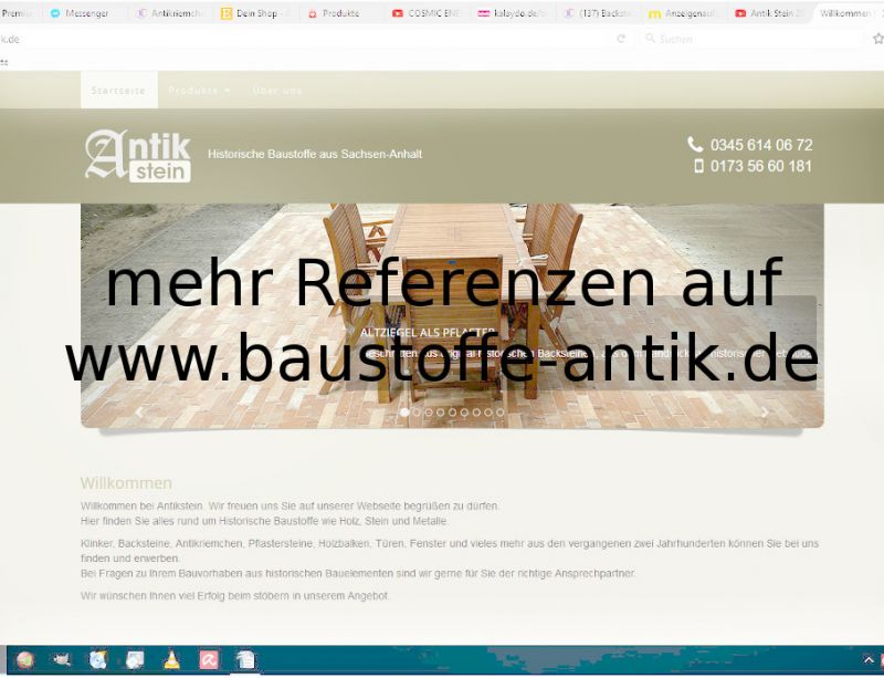 Alte Mauersteine Reichsformat Hohlziegel Ziegel Klinker Backsteine Rückbausteine historisch Mauerwerk  8