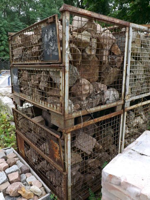 Bruchstein Mauerwerk Naturstein Porphyr Trockenmauer Gartensteine Poolumrandung Zyklopenmauerwerk Polygonalmauerwerk  3