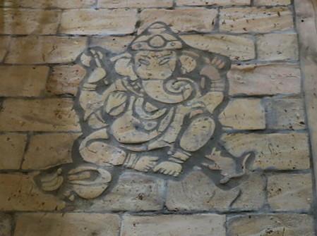 Bodenplatten Bodenziegel Bodenfliesen Backstein alte Mauersteine geschnitten Landhaus shabby chic  7