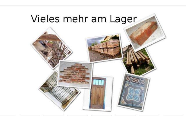 Bodenplatten Bodenziegel Bodenfliesen Backstein alte Mauersteine geschnitten Landhaus shabby chic  9