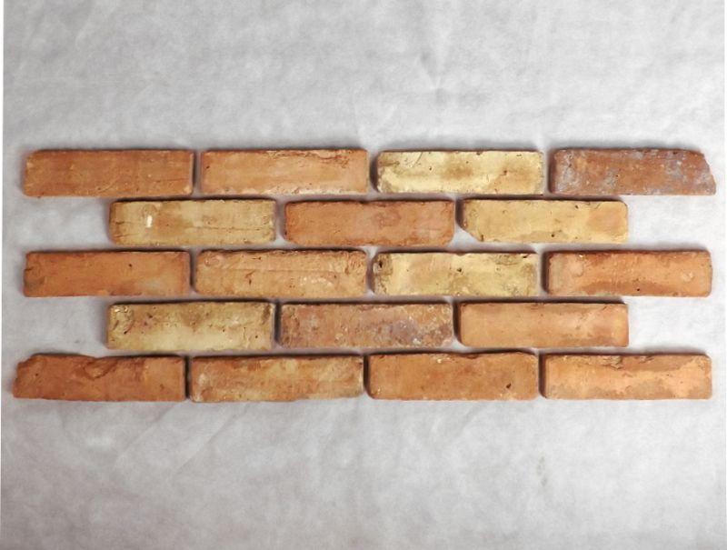 Antikriemchen Ziegelriemchen Mauerziegel antik retro Riemchen Steinriemchen Mauerverblender