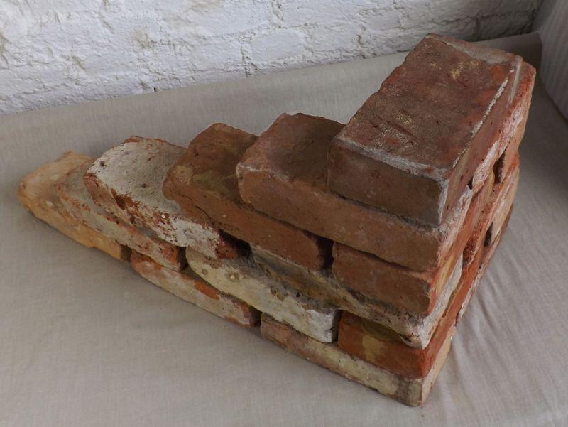 Originale Ziegelsteine Klinker Backsteine gebrauchte Mauersteine Gartensteine Gartenmauer Grill Sommerküche  2