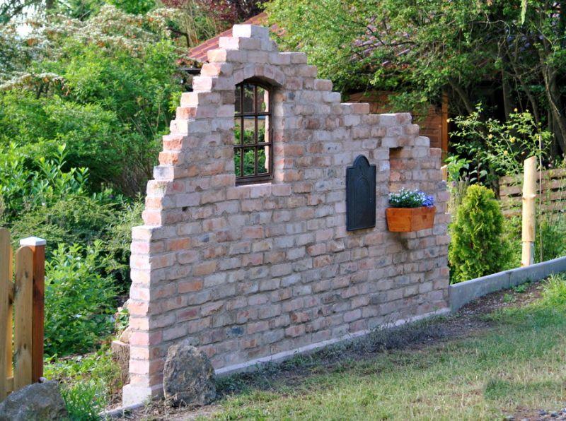 Originale Ziegelsteine Klinker Backsteine gebrauchte Mauersteine Gartensteine Gartenmauer Grill Sommerküche  5