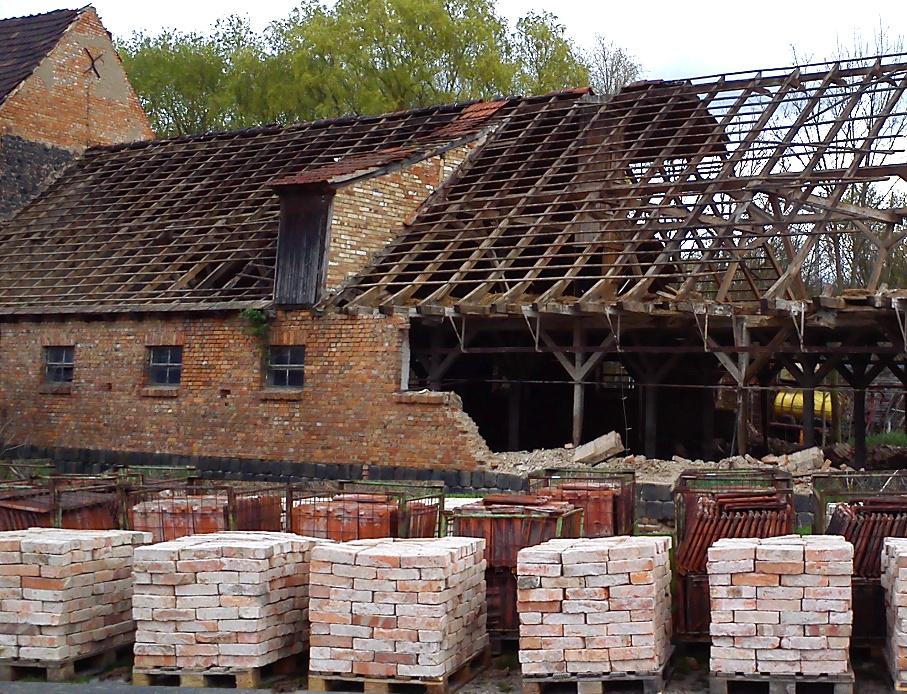 alte Ziegelsteine Klinker Backsteine gebrauchte Mauersteine Antikziegel Verblender historisches Mauerwerk Weinkeller Ruinenmauer Gartensteine Gartenmauer Grill Sommerküche 3
