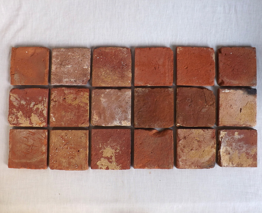 Bodenziegel Bodenplatten Bodenfliesen Weinkeller Antikziegel alte Mauersteine Backsteine Terracotta Ziegelboden Backstein alte Mauersteine geschnitten Landhaus shabby chic 0