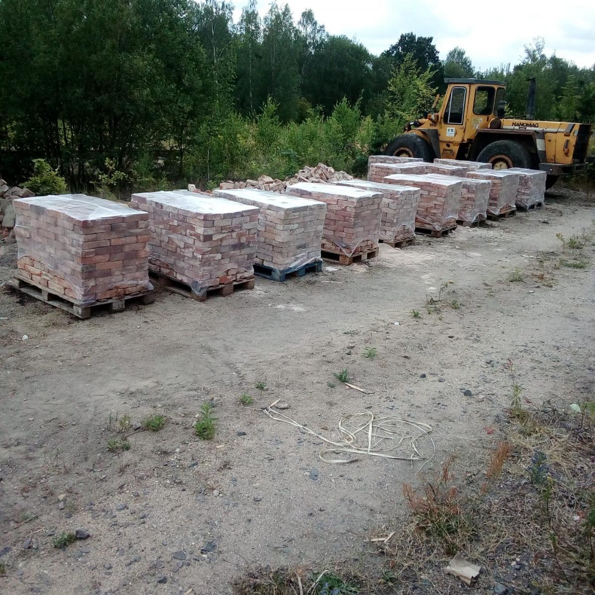 alte Ziegelsteine Klinker Backsteine gebrauchte Mauersteine Antikziegel Verblender historisches Mauerwerk Weinkeller Ruinenmauer ökologische klimaneutral Landhaus rustikal 4