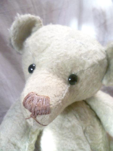 Seltener, antiker Vorkriegs- ausgeprägter ganz besonderer buckeliger Charakter Teddybär  Ein uralter, charmanter Bär wohl um 1920 er Jahre 3