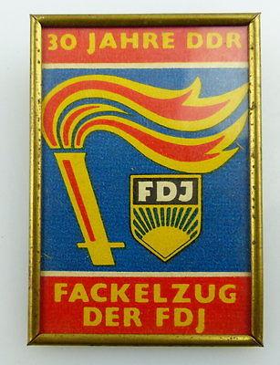 Abzeichen: 30 Jahre DDR FDJ Fackelzug der FDJ, Orden2719