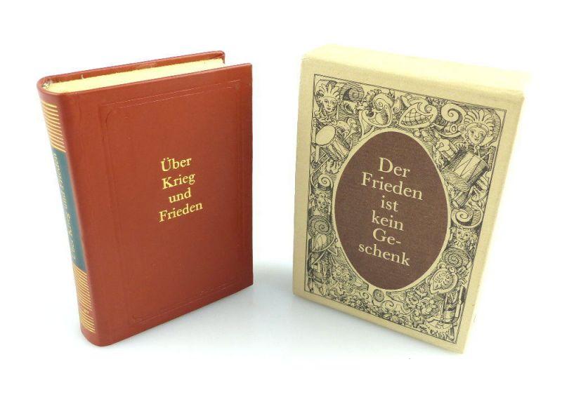 #e2934 Minibuch: Über Krieg und Frieden Eichelberger 1. Auflage 1986