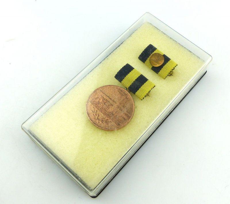 #e3789 Medaille für Verdienste in der Kohleindustrie der DDR Band I Nr. 243 a