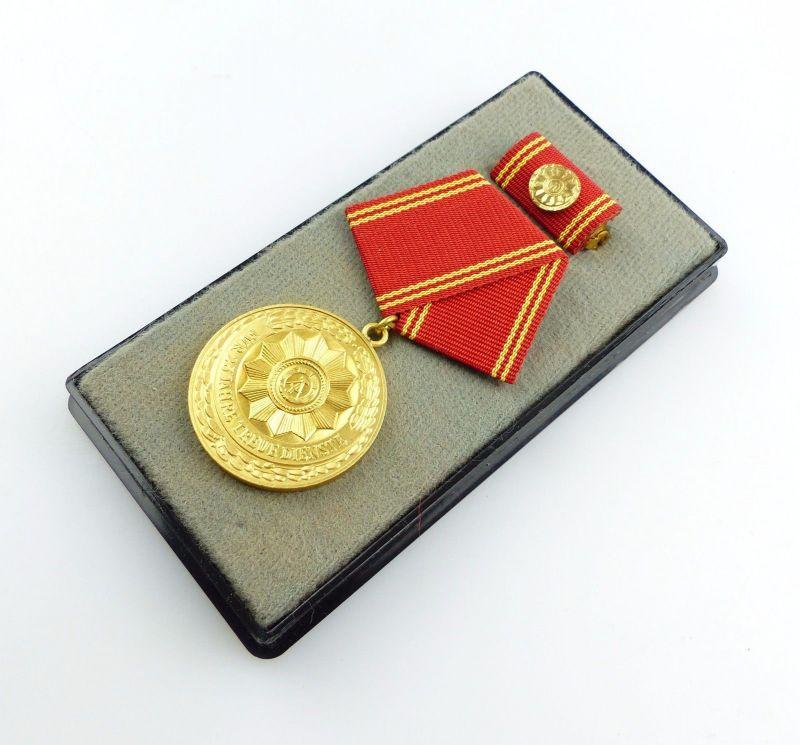 #e5397 Medaille für treue Dienste in den bewaffneten Organen des MdI in Gold