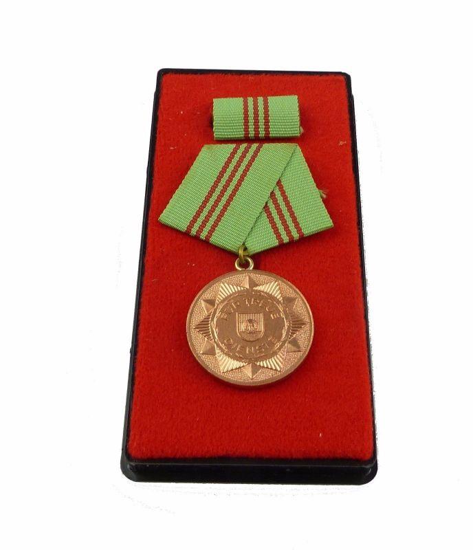 #e5427 Medaille für treue Dienste i.d. bewaffneten Organen des MdI vgl. Nr.143 c