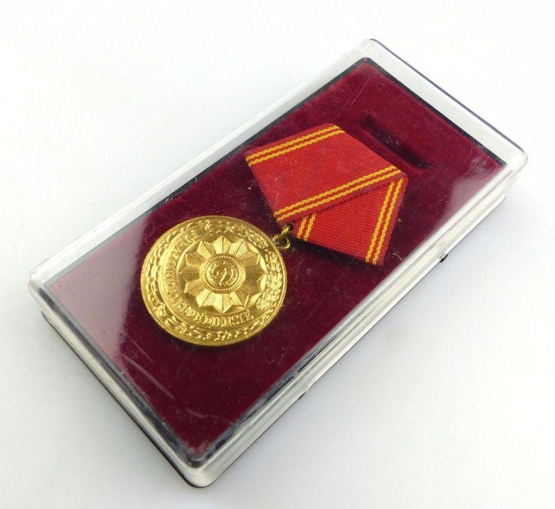 #e5570 Medaille für treue Dienste in den bewaffneten Organen des MdI Nr. 139