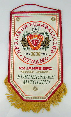 Wimpel: BFC Dynamo XX Jahre BFC Fördern des Mitglieds, Orden2168