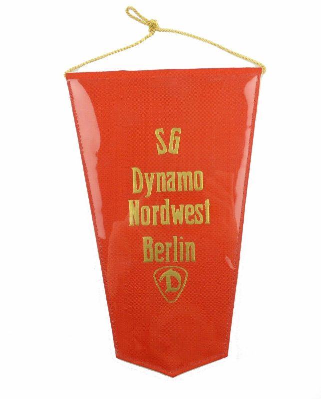 #e6070 Original alter DDR Wimpel SG Dynamo Nordwest Berlin