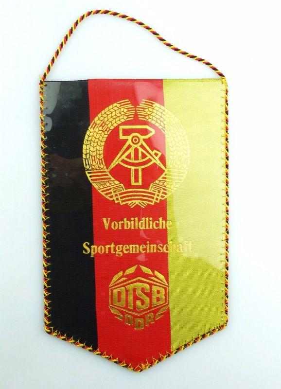 #e6049 DDR Wimpel BSG Lokomotive Cottbus Sektion Fußball DTSB Sportgemeinschaft
