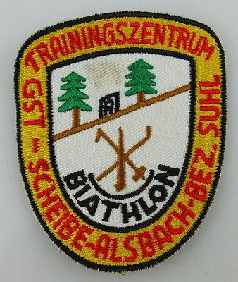 GST Abzeichen: GST Trainingszentrum Scheibe Alsbach Bezirk Suhl Ausbildun GST594