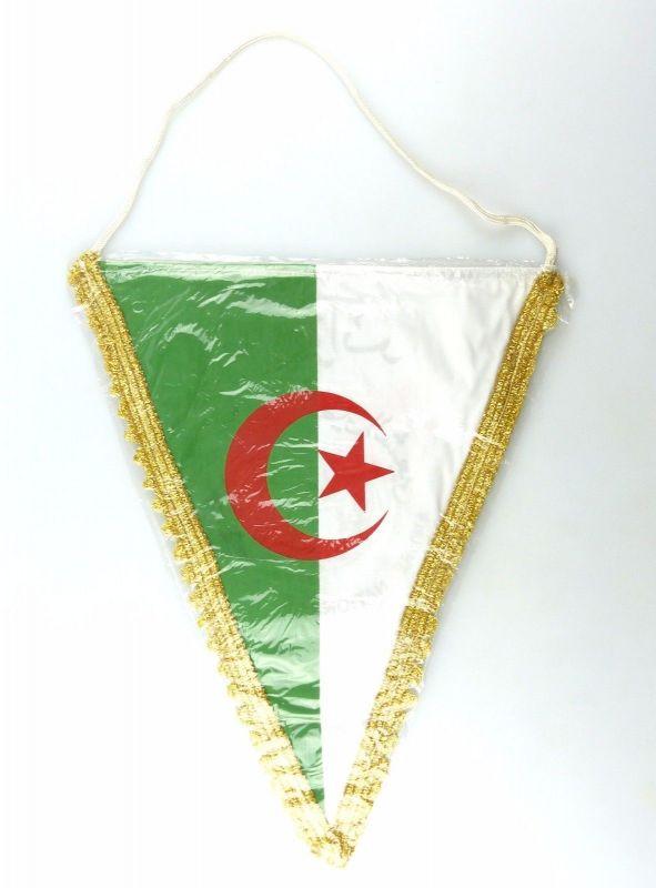 #e6345 Original alter Wimpel aus Algerien Armee Nationale Populaire