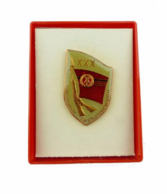 #e6983 DDR Abzeichen 30 Jahre MfS Ministerium für Staatssicherheit XXX