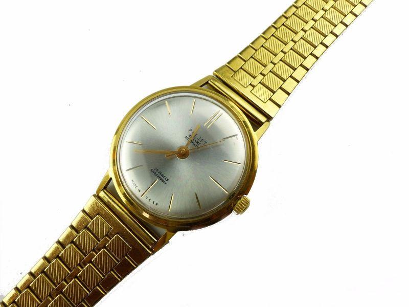 #e7053 Poljot de Luxe Automatic Armbanduhr UdSSR 60er Jahre 1